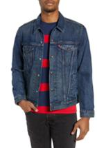 Men's Levi's Lined Denim Trucker Jacket - Blue