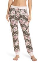 Women's Splendid Crop Print Pajama Pants - Green
