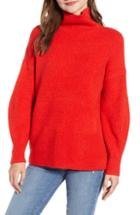 Women's French Connection Urban Flossy Cowl Neck Sweater - Green