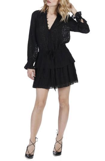 Women's Paige Capricia Silk Dress - Black