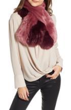 Women's Halogen Faux Fur Scarf