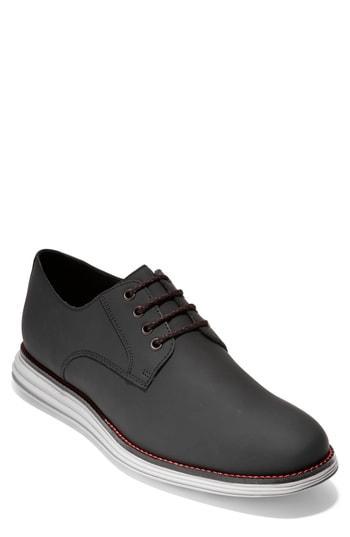 Men's Cole Haan Original Grand Plain Toe Derby M - Black