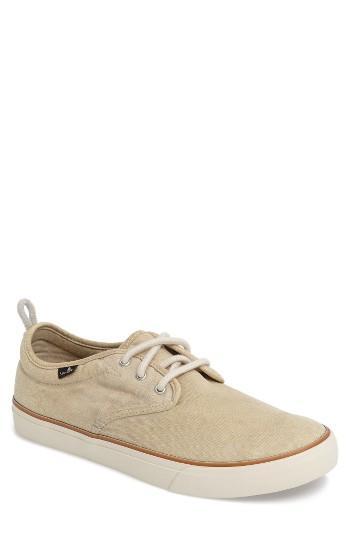 Men's Sanuk Guide Sneaker, Size 7 M - Beige
