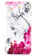 Ted Baker London Babylon Iphone X/xs/xs Max & Xr Mirror Folio Case - Grey