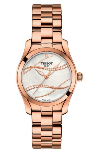 Women's Tissot T-wave Bracelet Watch, 30mm