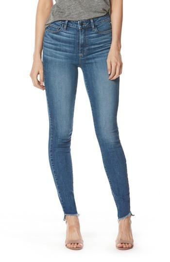 Women's Paige Hoxton High Waist Slanted Ankle Skinny Jeans