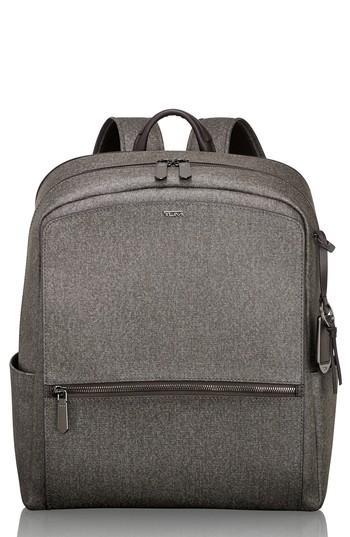 Tumi Stanton Becca Coated Canvas Backpack - Grey