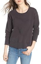 Women's Frank & Eileen Tee Lab Heart Embroidered Sweatshirt - Grey