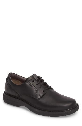 Men's Clarks Cushox Plain Toe Derby M - Black