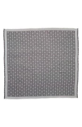 Women's Mcm Monogram Scarf, Size - Grey