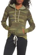 Women's Alternative Camo Pullover Hoodie - Green