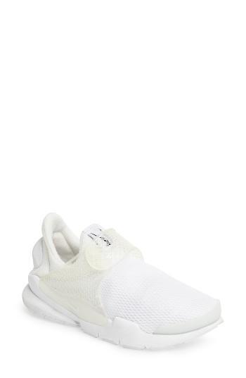 Women's Nike Sock Dart Sneaker M - White