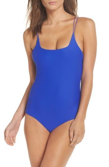 Women's Mikoh Kilauea One-piece Swimsuit - Blue
