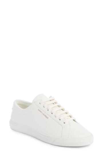 Women's Saint Laurent Andy Sneaker Us / 35eu - White
