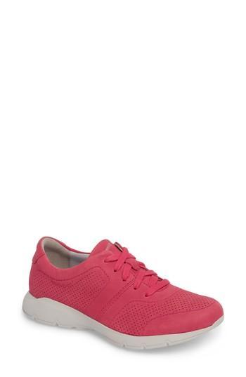 Women's Dansko Alissa Sneaker .5-6us / 36eu M - Red