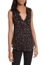 Women's Rebecca Minkoff Carlisle Top, Size - Black