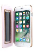 Ted Baker London Kadia Iphone 6/6s/7/8 Mirror Folio Case - Metallic