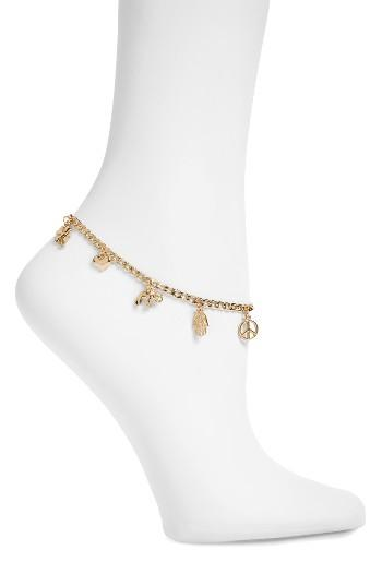 Women's Topshop Charm Anklet
