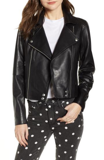 Women's Paige Fontana Leather Moto Jacket