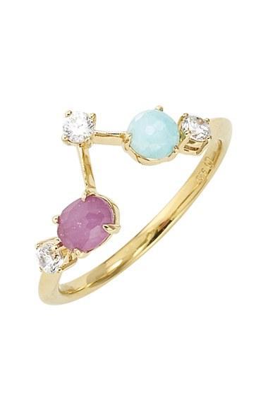 Women's Nadri Stone Bar Ring