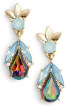 Women's Halogen Teardrop Petal Earrings
