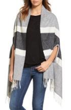 Women's Madewell Stripe Cape Scarf