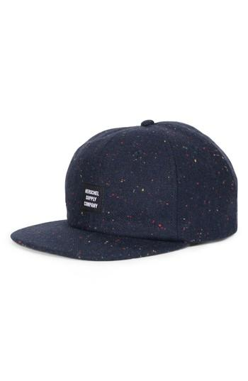 Women's Herschel Supply Co. Albert Donegal Baseball Cap - Blue