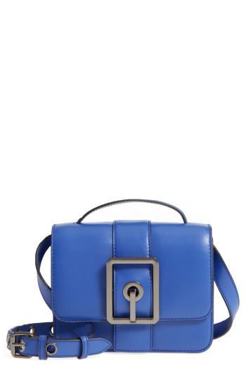 Rebecca Minkoff Small Hook Up Leather Top Handle Satchel - Purple