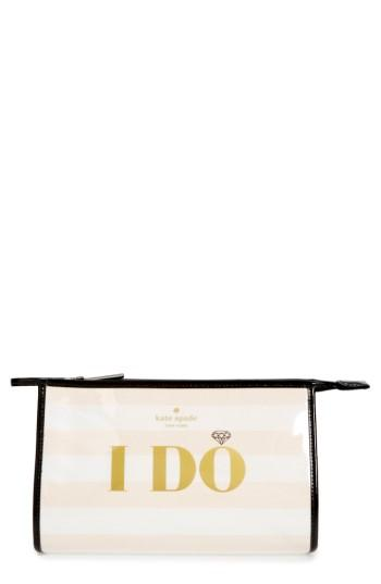 Kate Spade New York Wedding Belles - I Do/i Did Pouch, Size - Multi