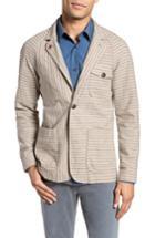 Men's Billy Reid Harrison Linen & Cotton Jacket, Size - Beige