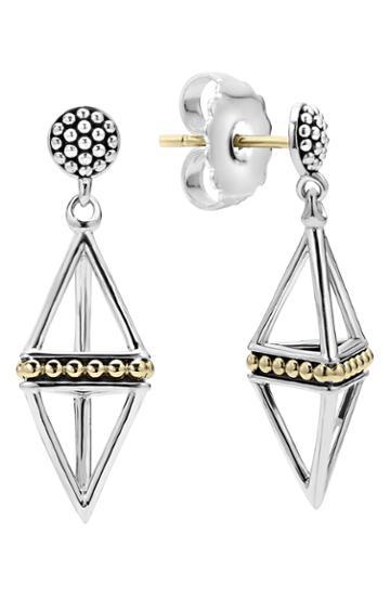 Women's Lagos Pyramid Drop Earrings