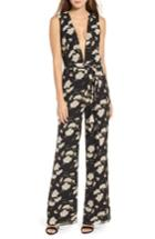 Women's Privacy Please Raymond Jumpsuit - Black