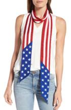 Women's Collection Xiix Americana Skinny Scarf