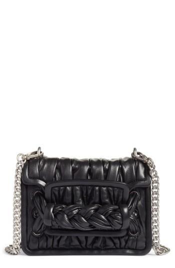 Miu Miu Matelasse Leather Shoulder Bag -