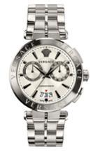 Men's Versace Aion Chronograph Bracelet Watch, 45mm