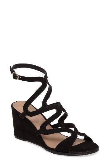 Women's Chinese Laundry Radical Wedge Sandal .5 M - Black