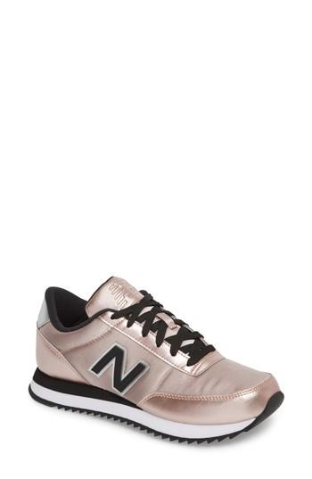 Women's New Balance 501 Ripple Sneaker .5 B - Purple