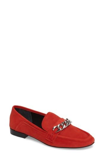 Women's Dolce Vita Cowan Loafer M - Red