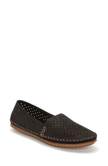 Women's Adam Tucker Surf Perforated Loafer .5 M - Black