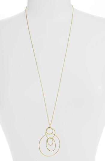Women's Gorjana Wilshire Multi Loop Pendant Necklace