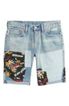 Men's Levi's 511 Cutoff Denim Shorts - Blue