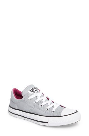 Women's Converse Chuck Taylor All Star Madison Low Top Sneaker .5 M - Grey