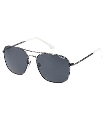 O'Neill Aerial Black Text Sunglasses