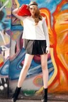 Oasap Elasticated Loose Cotton Shorts