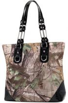 Oasap Fashion Camouflage Tote Bag