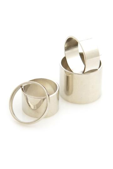 Oasap Stackable Ring Set