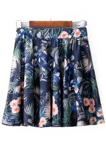 Oasap Precious Floral Mini Skirt