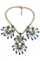 Oasap Ritzy Dream Cutout Bib Necklace