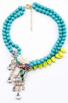 Oasap Lovely Parrot Necklace