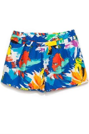 Oasap Vibrant Colorful Shorts